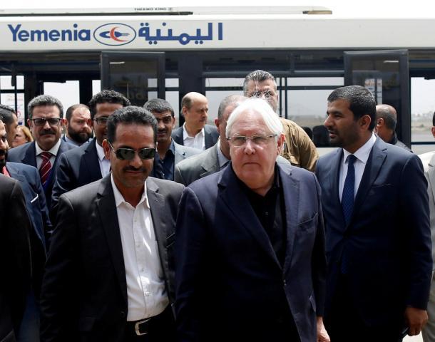 هذا ما شدد عليه المبعوث الأممي إلى اليمن خلال لقائه وفد الحوثيين في صنعاء
