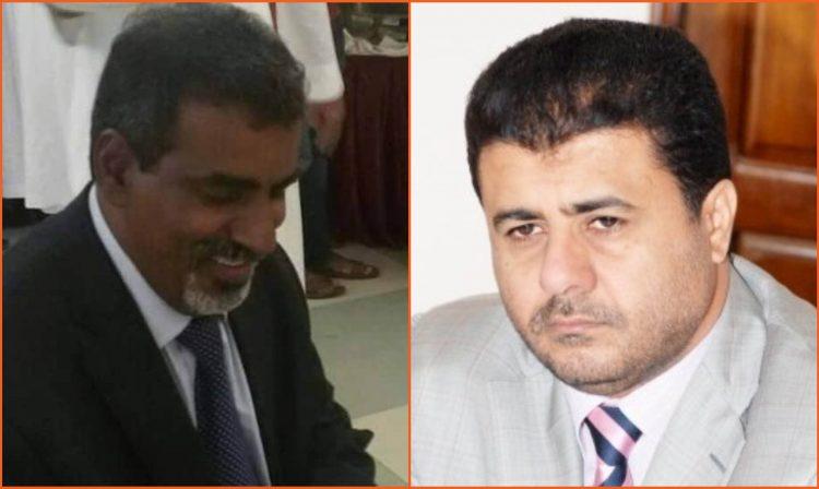 """الشيخ احمد العيسي يعزي في وفاة الدكتور """"الجوهي"""" رئيس الكتلة البرلمانية لمحافظة حضرموت"""