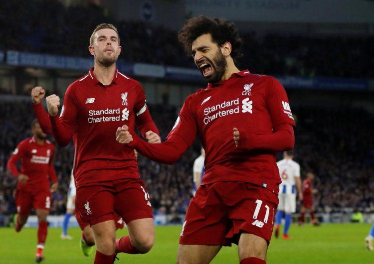 هدف محمد صلاح ضد برايتون يمنح ليفربول ثلاث نقاط ثمينة (فيديو)