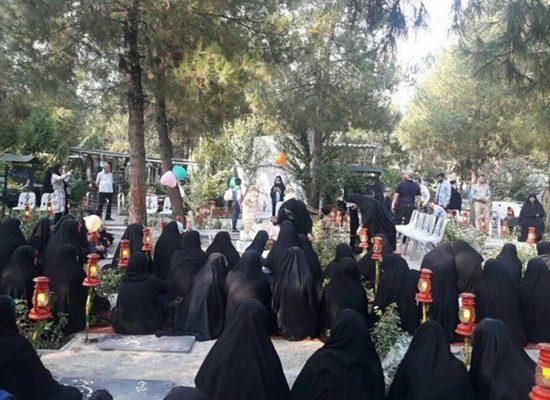 """ظاهرة غريبة في إيران.. فتيات """"حزب الله"""" يتزوجن من قتلى الحرس الثوري الإيراني"""