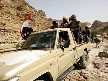 الجيش الوطني يتقدم في مديرية كتاف صعدة ويسيطر على سلسلة جبلية مهمة