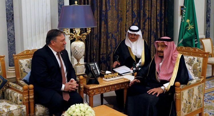 وزير الخارجية الأميركي يصف اللقاء مع الملك سلمان بـ«المثمر»… ويشدد على الحل السياسي في اليمن