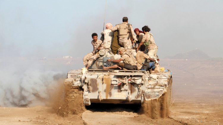 الجيش الوطني يشن هجوما في مديرية الظاهر بصعدة ويسيطر على مواقع جديدة