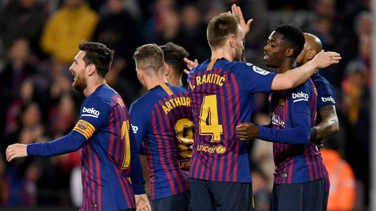ثلاثية نظيفة على ليفانتي تمنح برشلونة مقعد في ربع نهائي كأس ملك اسبانيا