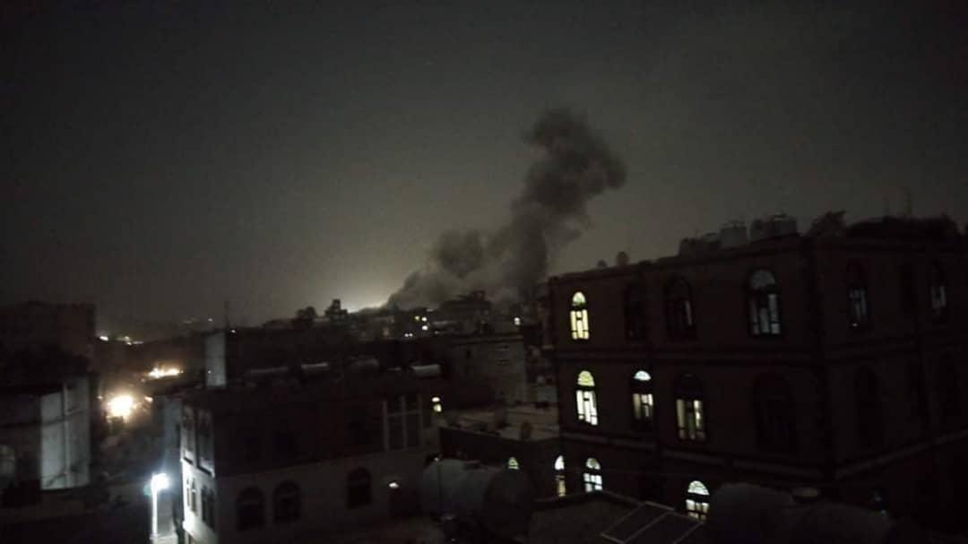 بعد إعلانه عن بدء عملية نوعية.. التحالف العربي يشن غارات كثيفة على مواقع المليشيا في صنعاء