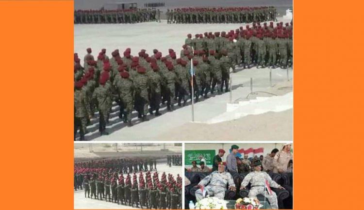 القوات المدعومة اماراتياً.. فقط لقمع ابناء الجنوب والإستعراضات العسكرية