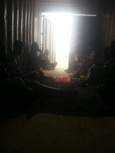 قوات مدعومة من الامارات تمتلك سجون خارج اطار القانون بشبوة …صورة