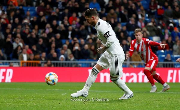 ريال مدريد يضع قدماً في نصف نهائي كأس ملك اسبانيا