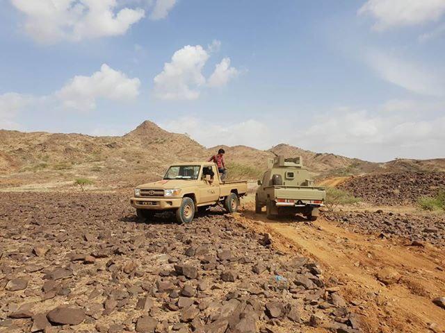 قوات الجيش تشن هجوما على مواقع المليشيا في باقم بصعدة وسقوط قتلى وجرحى حوثيين