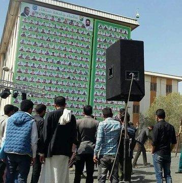 بعد أخذهم إلى جبهاتها بالقوة.. مليشيا الحوثي تعيد طلاب جامعة صنعاء صورا جامدة