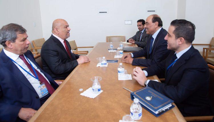 تفاصيل لقاء وزير الخارجية اليمني مع نظيره الكويتي في نيويورك