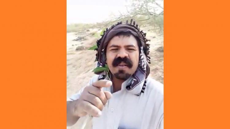 """""""رحم الله أمرئٍ عرف قدر نفسه"""".. راعي غنم يوجه رسائل لاذعة للحكومة الشرعية (فيديو)"""