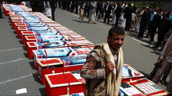 تعز: مليشيا الحوثي تعيد 40 جثة من عناصرها لقوا مصرعهم في معسكر سري بذمار