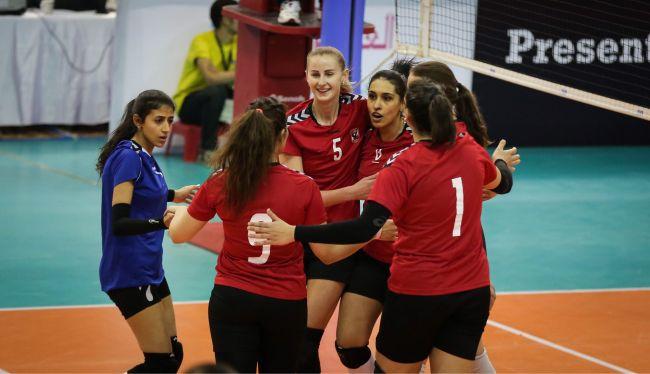 الأهلي يفوز في البطولة العربية لأندية سيدات الطائرة