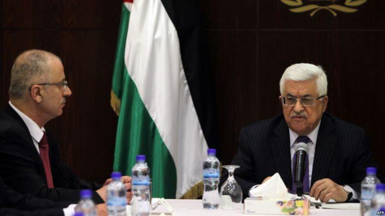 فلسطين.. استقالة حكومة رامي الحمدلله وعباس يكلفها بتسيير الاعمال