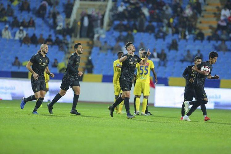 التعاون يقسو على النصر بثلاثية في الدوري السعودي
