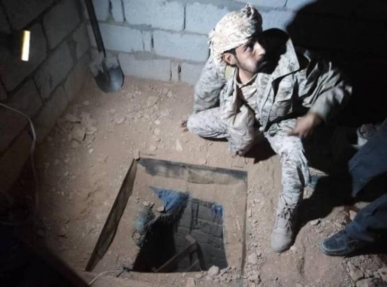 أغرب عملية سرقة.. قوات الجيش تضبط عصابة سرقة نفط عبر الأنفاق في شبوة