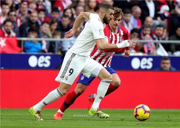 فوز كبير لريال مدريد على اتلتيكو وصعود للوصافة