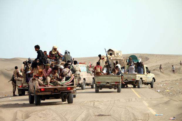 قوات الجيش الوطني تصد هجوما لمليشيا الحوثي في مديرية التحيتا بالحديدة