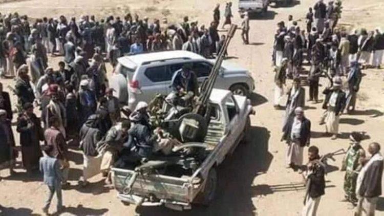 مقاومة حجور تستعيد مواقع جنوب جبهة أفلح الشام وسقوط قتلى وجرحى حوثيين