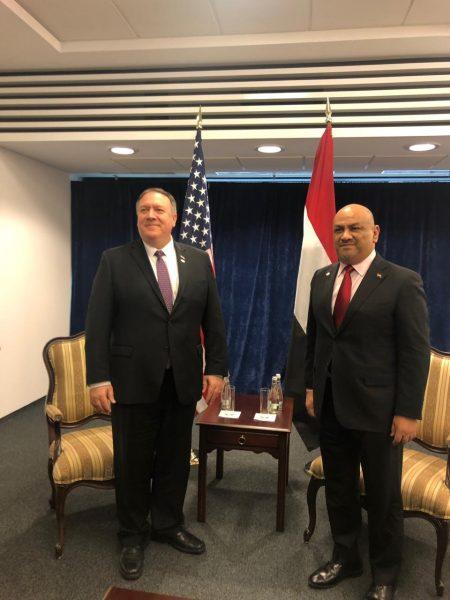 توافق أمريكي يمني بشأن الخطر الذي تمثله هذه الدولة على المنطقة عامة واليمن خاصة