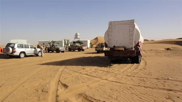 """شبوة الجيش يحبط عملية تهريب """"نفط خام"""" كان في طريقه للحوثيين"""