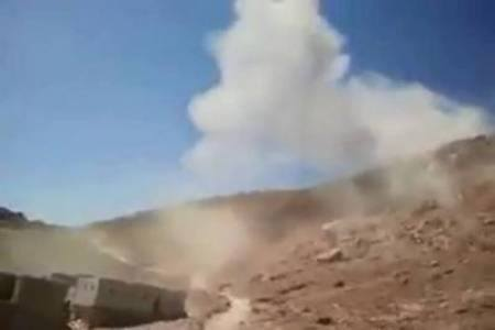 حجة: غارة جوية تستهدف مخزن اسلحة وتقتل قياديان حوثيان في حجور
