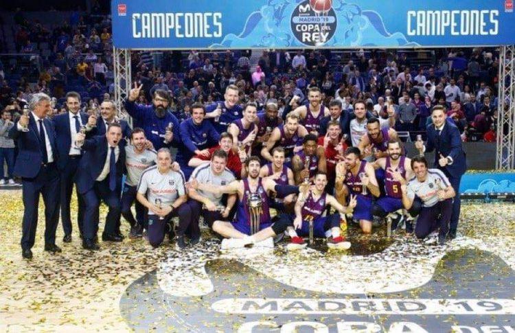 برشلونة يفوز بكأس الملك على حساب ريال مدريد في السلة