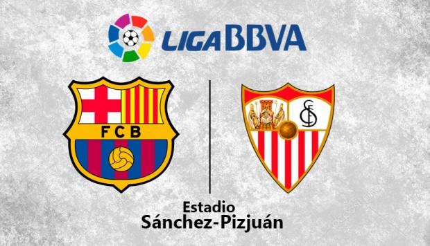 برشلونة في ضيافة اشبيلية بمهمة صعبة لتعزيز صدارة الدوري الاسباني