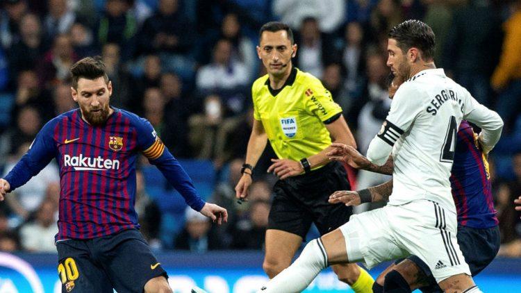 برشلونة يحسم كلاسيكو الارض ويتجاوز ريال مدريد يثلاثية إلى نهائي كأس ملك اسبانيا