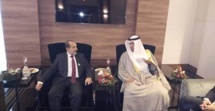 خلال لقائه نظيره الكويتي.. وزير العدل يشيد بدور دولة الكويت في مساندة اليمن