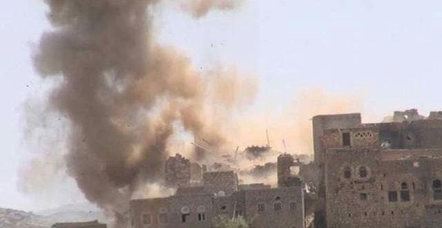 في أعنف قصف للمليشيات.. مقتل 23 مدنيا وإصابة 30 آخرين من أبناء العبيسة بحجور
