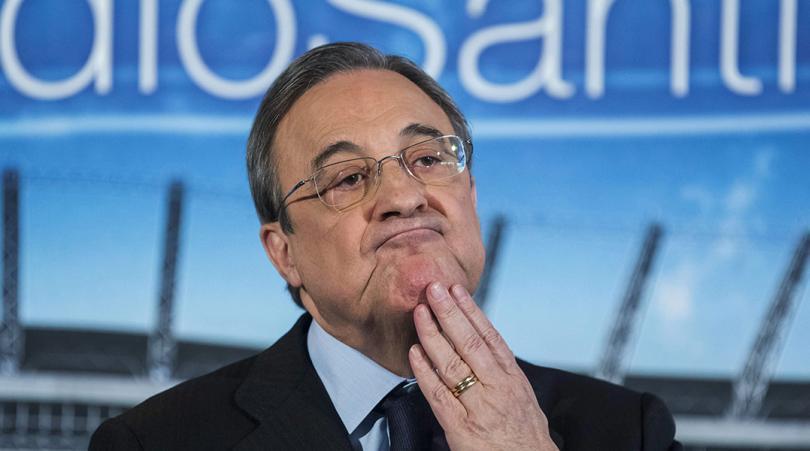 جماهير ريال مدريد تطالب بإقالة فلورنتينو بيريز