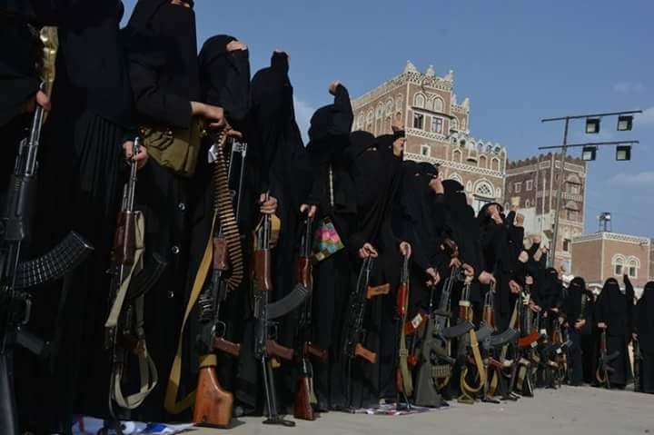 """نواعم الحوثيين في مهمات قذرة.. العالم السري لــ""""الزينبيات"""" من هن واين يتم تأهيلهن؟"""
