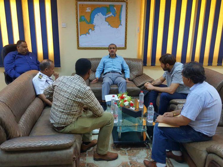 الرئيس التنفيذي لموانئ عدن يؤكد استعدادها لتقديم كافة التسهيلات لبرنامج الغذاء العالمي