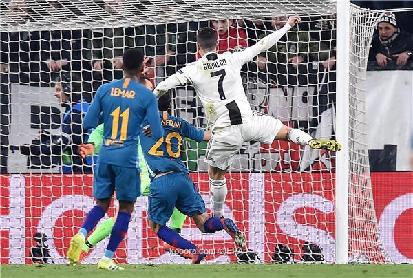 هاتريك رونالدو يمنح يوفنتوس بطاقة الربع النهائي على حساب اتلتيكو مدريد في دوري الابطال