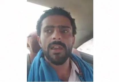 """عجائب الإنفصاليين.. """"العذري"""" يجول في موكب عسكري بعدن بأوامر من أحمد علي صالح!"""