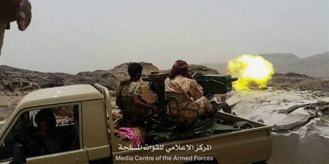 قوات الجيش تحرر مواقع جديدة في جبهة حرض بحجة المحاذية لمديرية الظاهر جنوبي صعدة