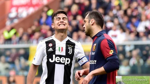 خسر بهدفين من جنوى.. يوفنتوس يتلقى أول خسارة له في الدوري الايطالي