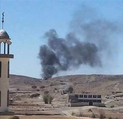 مصرع قيادي حوثي مع عدد من مرافقيه بغارات لطيران التحالف في محافظة البيضاء