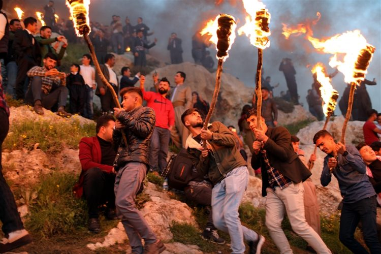 إعتبروه يوم هبوط آدم على الأرض.. ماذا تعرف عن «نوروز» عيد الأكراد المقدس