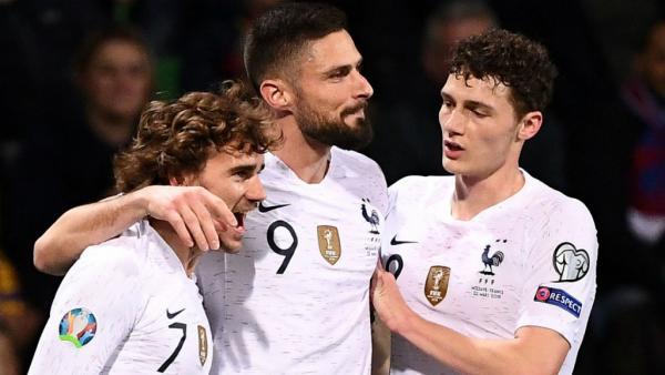 فرنسا تحقق فوزا سهلا أمام مولدافيا في تصفيات كأس أمم أوروبا 2020