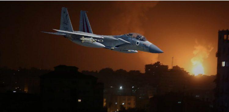 طيران الاحتلال الاسرائيلي يقصف غزة والمقاومة الفلسطينية تستعد للرد