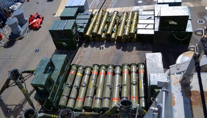 شحنة صواريخ كاتيوشا تضبطها قوات الجيش في شبوة كانت في طريقها للمليشيا