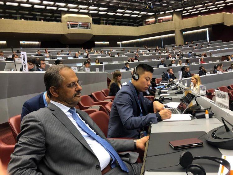 اليمن يشارك في مؤتمر بجنيف لمناقشة التحديات التي تواجه اللاجئين في العالم