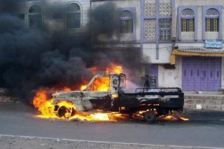 عدن: 15 جريح بانفجار عبوة ناسفة بمديرية دار سعد