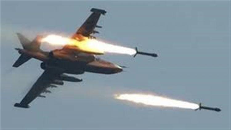 طيران التحالف العربي يشن غارات مكثفة على مواقع وتجمعات لمليشيا الحوثي في الضالع