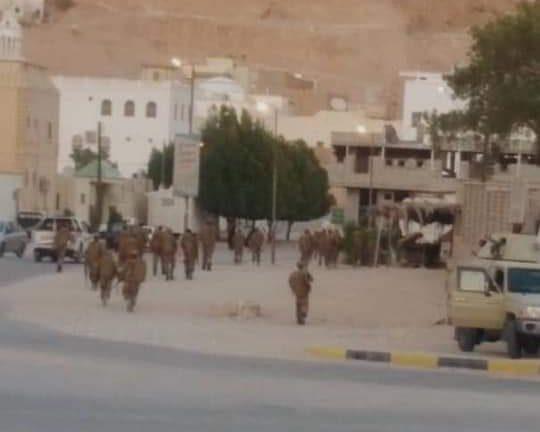 سيئون تتحول الى ثكنة عسكرية بعد اختيارها لعقد جلسات البرلمان اليمني