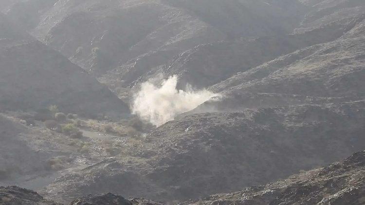 8 حوثيين يلقون مصرعهم بغارات لطيران التحالف العربي في كتاف بصعدة