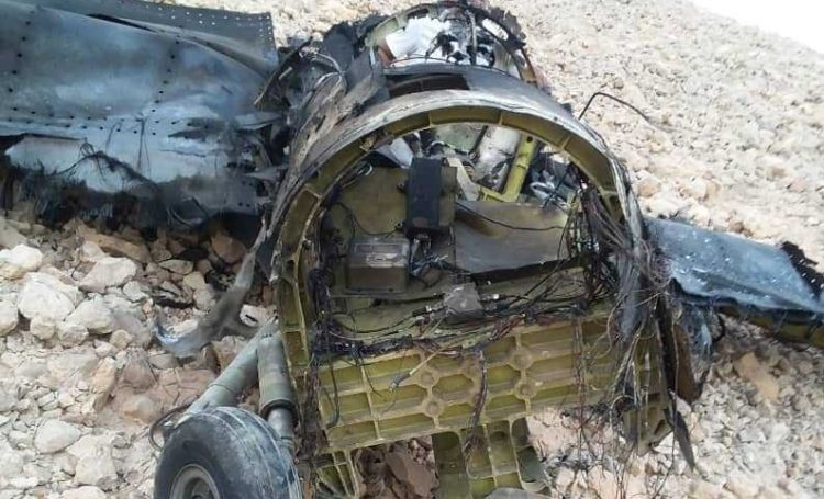 The relationship between the dropped aircraft in Sayoun and the threats of Bin Brik